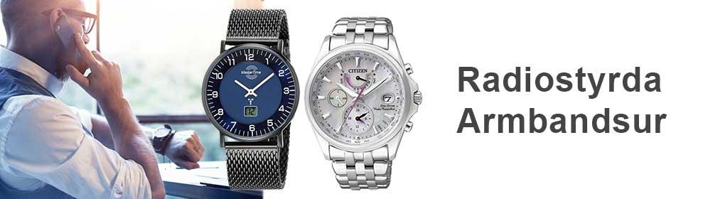 Radiostyrda Armbandsur