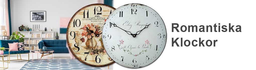 Romantiska Klockor