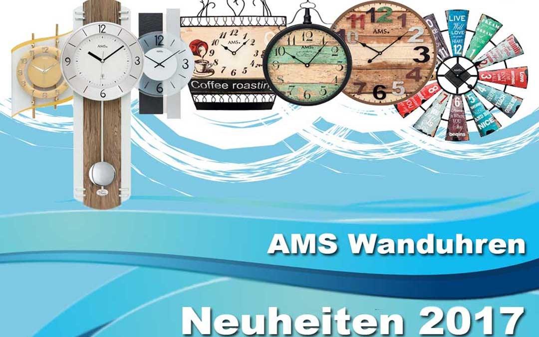 AMS väggur nyheter 2017