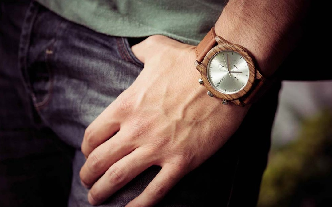 Armbandsur av trä