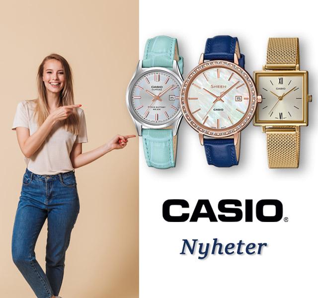 Casio Nyheter