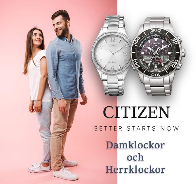 Citizen Dam- och Herrklockor