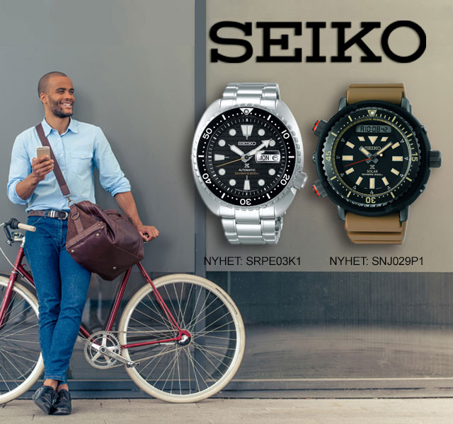 Seiko Armbandsklockor