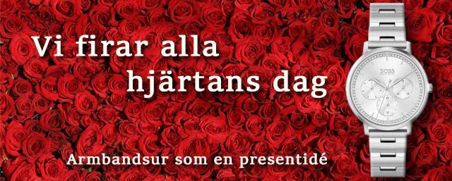 Alla hjärtans dag armbandsur den 14 februari